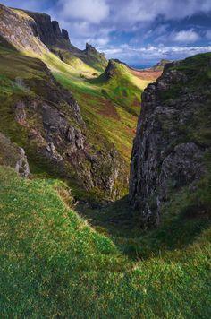 Quiraing, Trotternish Peninsula, Isle of Skye, Highlands, Scotland, UK by Ian Hex of LightSweep
