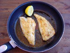 Lubina frita al limón con ajo y perejil y mantequilla tostada. Y el ganador es...