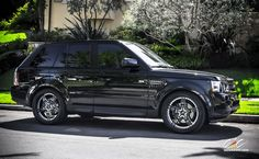 Land Rover Range Rover Sport with Custom Wheels by CEC in Los Angeles CA . Click to view more photos and mod info.