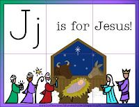 J is for Jesus - Letter of the Week curriculum from Confessions of a Homeschooler