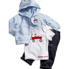 Baby boy clothes#GUESS Kids Boys Baby Jacket, Tee and Pants Set