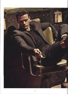 Imperial Barber Products - Luke Evans - MAN of the WORLD Magazine - Grooming by Mira Chai Hyde at Walter Schupfer for Imperial Barber Products - Matte Pomade Paste and Fiber Pomade
