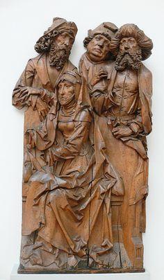 Tilman Riemenschneider - Hl Anna und ihre 3 Ehemänner (1500-1510) - Berlin Bodemuseum - wiki | Flickr - Photo Sharing!