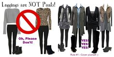 leggings are NOT pants! wish more people understood this!!