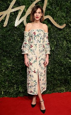 Alexa Chung from 2015 British Fashion Awards Red Carpet Arrivals | E! Online