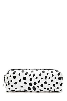 8a46eb99ff3 Forever21 · Polka Dot Print Makeup Bag Estampado De Lunares
