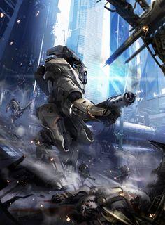 Patrol - Concept art, Illustrations, Sci-fi