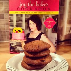 Day #115 - sweet potato chocolate chip cookies made late last night in honour of @joythebaker & given out at #LDHQ today in my absence