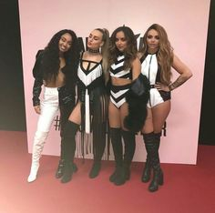Little Mix at the One Love Manchester concert