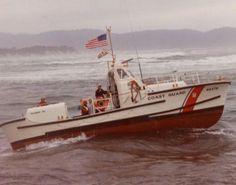 44 foot motor lifeboat underway