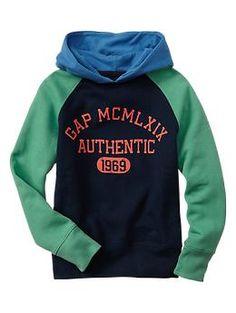 Logo colorblock hoodie | Gap
