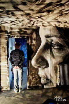 STREET ART COM DIAS CONTADOS - ANUAL DESIGN