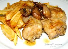 Cuina amb la mestressa: Pollo al ajillo, de otra manera