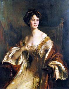 Winifred, Duchess of Portland Philip Alexius de László, 1911