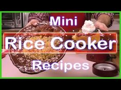Quick and Easy Homemade Meatloaf, Cake, Brown Rice and Vegetables in a Wolfgang Puck Rice Cooker - kilis Rice Cooker Bread Recipe, Rice Cooker Pasta, 3 Cup Rice Cooker, Rice Cooker Cake, Small Rice Cooker, Quinoa In Rice Cooker, Rice Cooker Recipes, Rice Recipes, Wolfgang Puck Rice Cooker