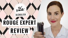 By Terry Rouge Expert lipstick review {English video} - TV Beauté | Vic ...