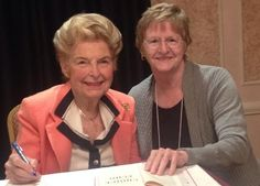 Phyllis Schlafly and Janet Engelbach at Eagle Council 2014.