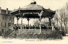 carte postale Saint-Chamond - Jardin Public ( Kiosque à Musique ) - N, DSS,  Départements français : 26 à 50 42 LOIRE