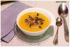 Julea Cuisine - Ma petite cuisine au quotidien: LA soupe orange à tomber : Carotte, patate douce, ...
