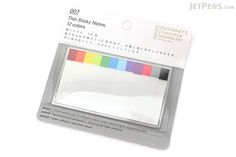 Stalogy Thin Page Markers - 12 Colors - JetPens.com