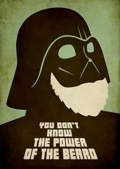 The Beard Side! Star Wars, South Vader, beard meme