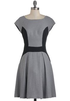 Business Pleating Dress, #ModCloth