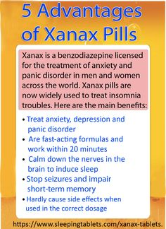 Benefits From Xanax