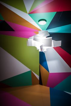 Let It Shine, Italian Lighting, Illusions, Cool Designs, Colour, Lights, Space, Big, Inspiration