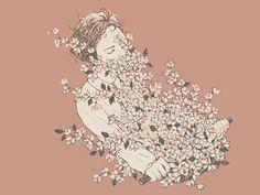 Bloemen — by Cynthia Tedy, via Behance