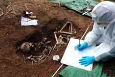 Uncover a grave, examine remains and reveal the victim's identity in this free online course, linked to a new Val McDermid story.
