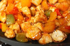 Pineapple Thai Chicken-