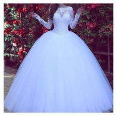 White Wedding Dresses Lace With Sleeves Princess Wedding Dresses Wedding . - White Wedding Dresses Lace With Sleeves Princess Wedding Dresses Wedding Dresses Model Number: - White Lace Wedding Dress, Wedding Dress Sleeves, Long Sleeve Wedding, Dress Lace, Poofy Wedding Dress, Gown Wedding, Dress Prom, Lace Sleeves, Wedding White
