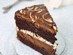 Tort de ciocolata tuxedo, Rețetă Petitchef