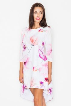 Cold Shoulder Dress, Casual, Model, Pattern, Floral, Dresses, Street, Products, Fashion