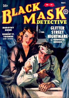 BLACK MASK DETECTIVE cover art by peterpulp.deviantart.com on @deviantART
