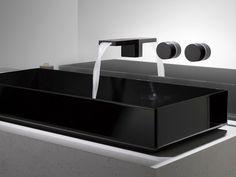 DEQUE Miscelatore per lavabo a 3 fori by Dornbracht design Sieger Design