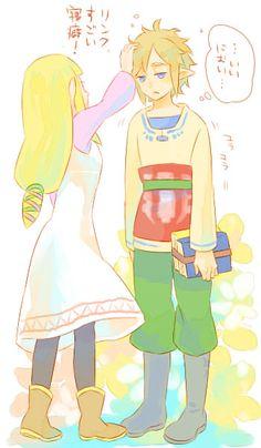 Zelda x Link