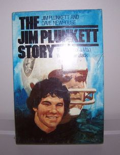 NEW 1981 #JimPlunkett Story Saga of a Man Who Came Back #Oakland #Raiders #NFL HB