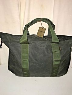 BRAND NEW WITH TAGS FILSON LARGE GRAB N GO TOTE BAG WITH ZIPPER TOP  fashion 28f5da4074681