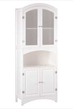 linen cabinet white linen cabinet features frosted glass doors arched openu2026