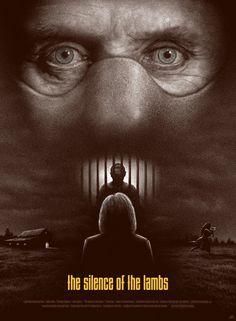 Alternative Movie Posters by Adam Rabalais Silence of the Lambs by Adam Rabalais Horror Movie Posters, Cinema Posters, Horror Movies, Comedy Movies, Scary Movies, Good Movies, Love Movie, Movie Tv, Cinema Paradisio
