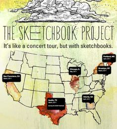 The SketchBook Project   Brooklyn Art Library   2011