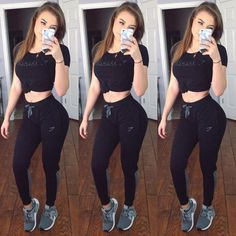 e0c1f6a5ca07d Elizabeth Zaks Never been a sweatpants kind of gal but @gymshark has  definitely changed the