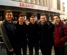Collabro. I'm the first to buy tickets when they have their first concert.
