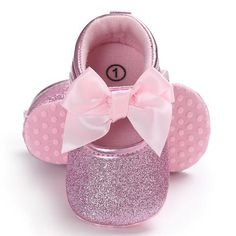 Raise Young Sping Autumn Fashion Baby Girl First Walkers Butterfly-knot Sequins Newborn Girl Shoes Toddler Infant Crib Shoes