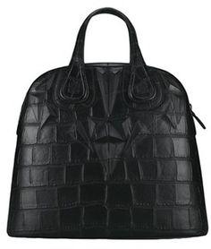 GIVENCHY Black Nightingale Medium Structured Bag