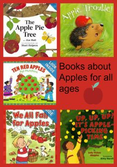 momstown's literacy programs are ripe for the picking with an apple theme this month! What better way to celebrate the fall, back to school and September than teaching our kids about apples. Whether its a trip to the apple orchard, a cute apple craft or baking with apples, we have all the ideas you need! We've got a great selection of titles for all ages- toddlers to preschoolers - all about apples!