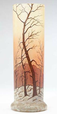 Legras French Cameo Glass Vase
