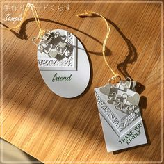★「手作りカードくらす」のご案内 - Class / 手作りカードくらす Thank You Kindly, Blog Entry, Crafts To Make, Washer Necklace, Charmed, Crafty, Bracelets, Cherry, Jewelry