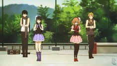 Kyoukai no Kanata // Beyond the Boundary Me Me Me Anime, Anime Love, Mirai Kuriyama, Beyond The Boundary, Gif Dance, Kyoto Animation, Manga Characters, Dark Fantasy, Manga Art